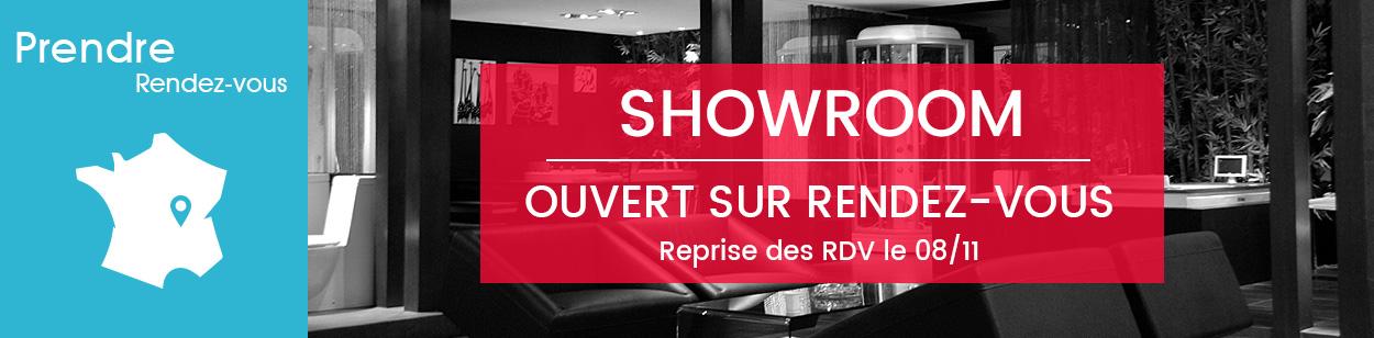 Demande RDV showroom